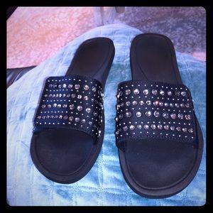 Shoes - Michael Kors slides size 7